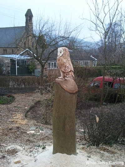 Gallery chainsaw carvings white rose chainsaw carving